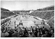 Footrace Photo Prints - Olympic Games, 1896 Print by Granger