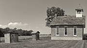 One Room Schoolhouse Prints - One Room Schoolhouse Print by Brian Mollenkopf