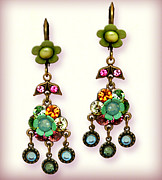Gift Jewelry - Orly Zeelon Esperanza Pendent Earrings by Orly Zeelon