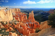 Bryce Canyon National Park Posters - Paria Point in Bryce Canyon Poster by Pierre Leclerc