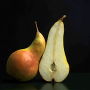 Studio Shot Photo Prints - Pears Print by Bernard Jaubert