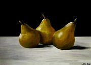 Pears Photos - 3 Peras by Jose Luis Reyes