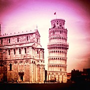Instaprints Art - Pisa by Luisa Azzolini