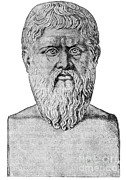 Rational Framed Prints - Plato, Ancient Greek Philosopher Framed Print by Science Source