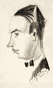 Portrait Print by Odon Czintos