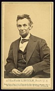 Gardner Framed Prints - President Abraham Lincoln 1809-1865 Framed Print by Everett