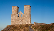 Church Ruins Photos - Reculver Towers by Dawn OConnor