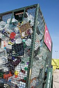 Local Food Photo Prints - Recycling Centre Print by Mark Williamson