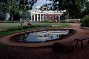 Thomas Jefferson Posters - Reflections of Monticello Poster by LeeAnn McLaneGoetz McLaneGoetzStudioLLCcom