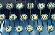 Typewriter Keys Framed Prints - Remington 10 Detail Framed Print by Kay Lovingood