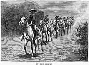 Training Prints - REMINGTON: 10th CAVALRY Print by Granger