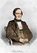 Comparative Anatomist Posters - Richard Owen, English Paleontologist Poster by Science Source