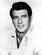 Rock Hudson, 1950s Print by Everett