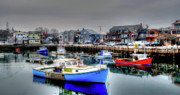 Rockport Metal Prints - Rockport Harbor Metal Print by Craig Incardone