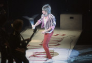 Rod Stewart Print by David Bishop