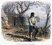 Log Cabin Prints - Roger Williams (1603-1683) Print by Granger