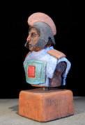 Helmets Ceramics Originals - Roman Legionaire - Warrior - ancient Rome - Roemer - Romeinen - Antichi Romani - Romains - Romarere by Urft Valley Art