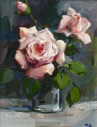 Date Paintings - Roses by Tigran Ghulyan