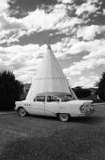Sixty-six Acrylic Prints - Route 66 - Wigwam Motel by Frank Romeo