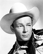 Cowboy Hat Photos - Roy Rogers, Ca. 1940s by Everett