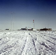 Coldest Prints - Russian Antarctic Research Station Print by Ria Novosti
