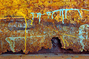 Grafitti Photos - Rust Colors by Carlos Caetano