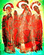 3 Saints Print by Andrew Osta