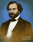 Samuel Photo Posters - Samuel Colt, American Inventor Poster by Science Source