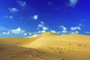 Sahara Sunlight Prints - Sandy desert Print by MotHaiBaPhoto Prints