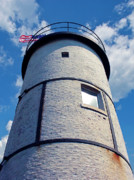 Sandy Neck Lighthouse Print by Charles Harden