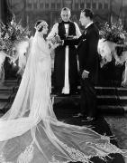 Weddings Prints - Silent Film Still: Wedding Print by Granger