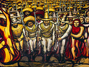 Crowd Prints - SIQUEIROS: MURAL, 1950s Print by Granger