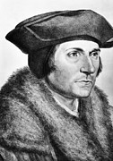 Francesco Framed Prints - Sir Thomas More (1478-1535) Framed Print by Granger