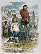Treason Prints - Sir Walter Raleigh Print by Granger