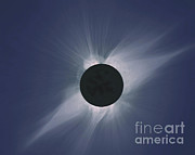 Solar Eclipse Photo Framed Prints - Solar Eclipse Framed Print by Nasa