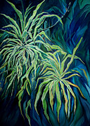 Plants Originals - Spider Plant by Merv Scoble