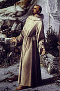 Detail Paintings - St. Francis Of Assisi by Granger