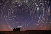 Alentejo Photos - Star Trail in Alentejo by Andre Goncalves