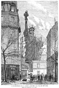 Spectator Prints - Statue Of Liberty, 1884 Print by Granger
