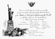 Enlightening Posters - Statue Of Liberty, 1886 Poster by Granger