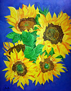 Arathi Nair - Sunflowers