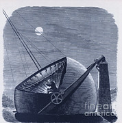 Chapman Framed Prints - Telescope Designed By Daniel C. Chapman Framed Print by Science Source