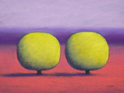 Tree Pastels - The Couple by Christopher Jackson