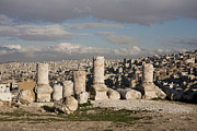 Hilltop Scenes Photos - The Ruins Of The Ancient Citadel, Or by Taylor S. Kennedy