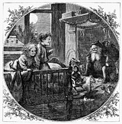 Christmas Eve Framed Prints - Thomas Nast: Christmas Framed Print by Granger