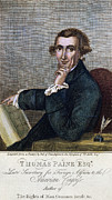 Rights Of Man Metal Prints - Thomas Paine (1737-1809) Metal Print by Granger