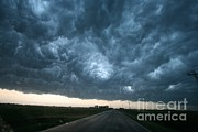 Violent Prints - Thunderstorm And Supercell Print by Science Source