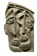Portrait  Reliefs - Together by Michael Lang