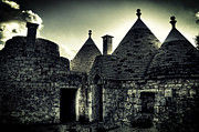Scary Houses Framed Prints - Trulli Framed Print by Joana Kruse