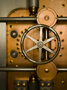 Combination Photos - Tumbler on a Vault Door by Adam Crowley